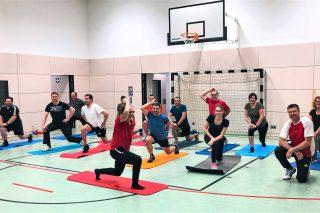 Heimerl Bau fördert Fitness der Belegschaft
